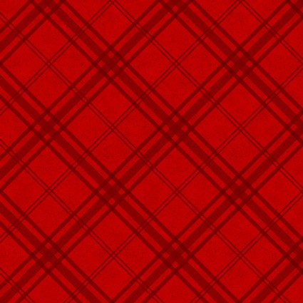 Frosty Friends Flannel Red/Black Tartan