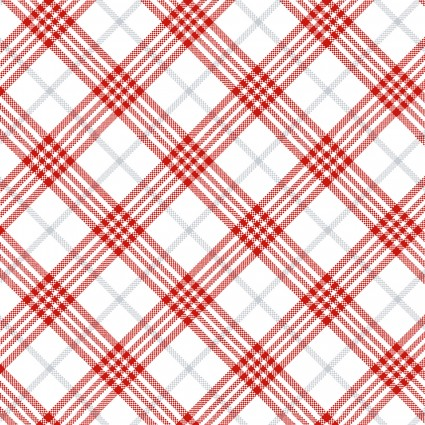 Winter Frost Flannel Plaid
