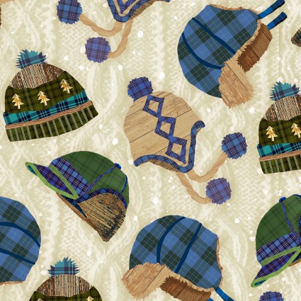 Pine Cone Lodge Flannel F9260-44
