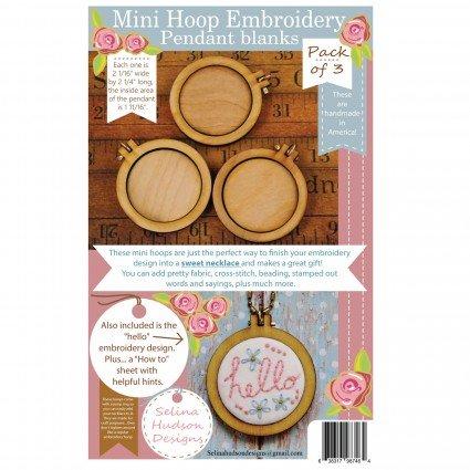 Mini Hoop Pendant Blanks - HHD101
