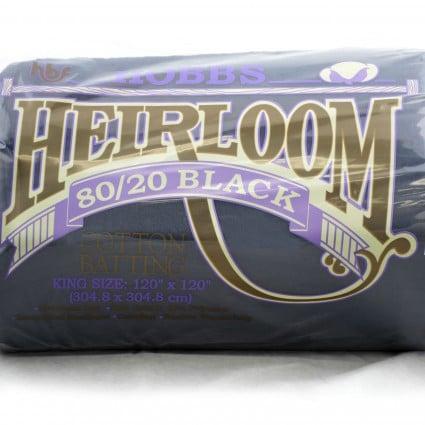 HOBBS Heirloom® 80/20Black Batting