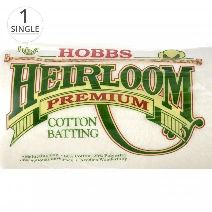 Heirloom® Premium Batting 80 x 20 Hobbs