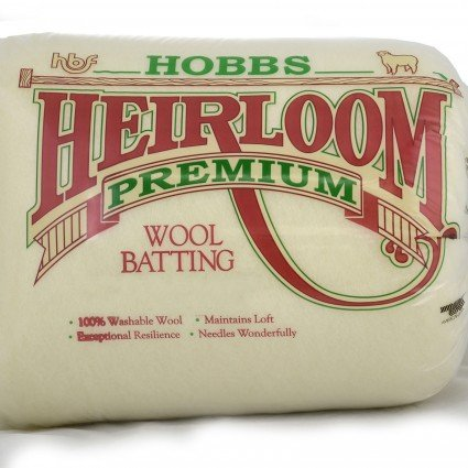 HOBBS Heirloom Premium Wool Batting QUEEN SIZE