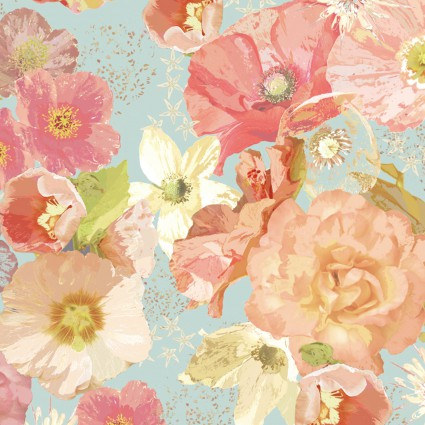 Believe Large Floral Multi