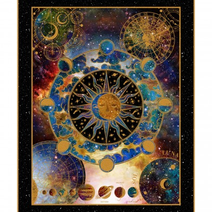 Cosmos - Large Panel - Multi Color