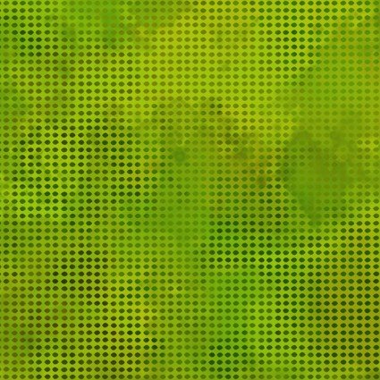 1DDE-21 Dit-Dot Evolution - Grass by Jason Yenter for In The Beginning Fabrics
