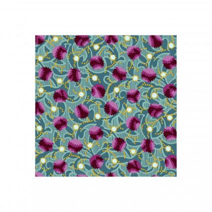 Deco Elegance - Berries - Fuchsia//Teal