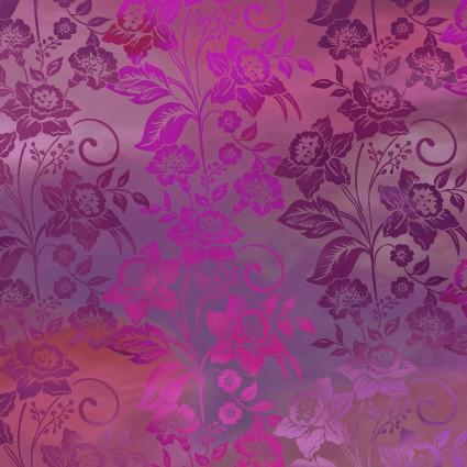 Diaphanous Magenta Enchanted Vines