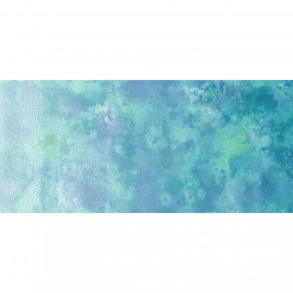 Diaphanous Teal Ombre