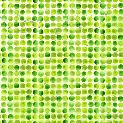 Dinosaur Friends Dot Green