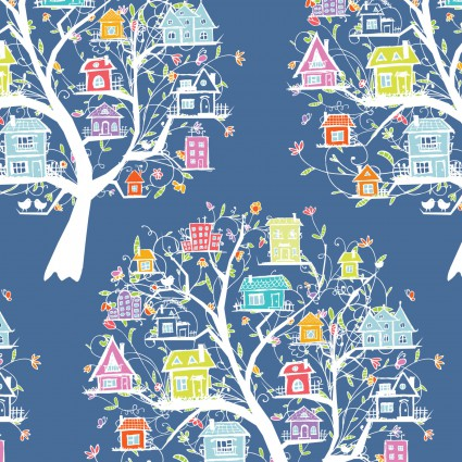 Doodle Blossoms Tree House
