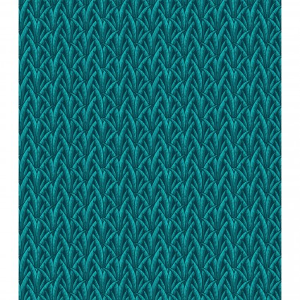 Exotic Spice - Leaves - Teal
