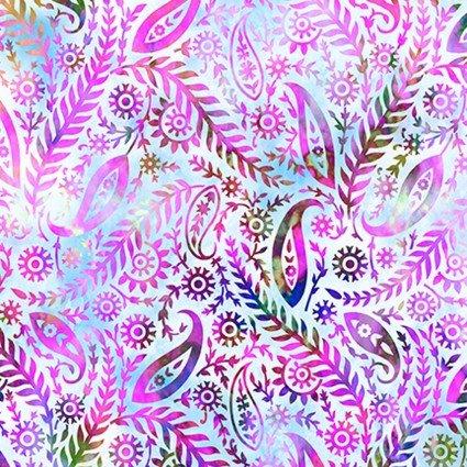In the Beginning Fabrics Floragraphix V Paisley Lavender