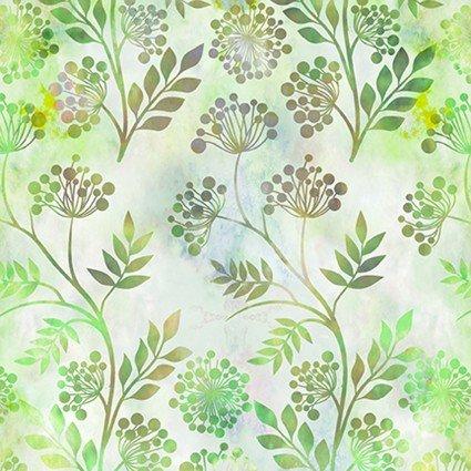 Floragraphix V Sprigs Green