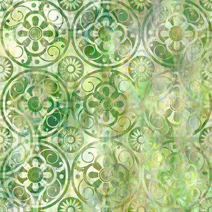 9FGE-1 Floragraphix V Medallions - Green