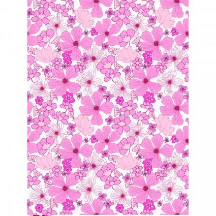 Garden Delights Pink Flowers