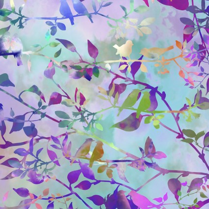 birds lavender haze