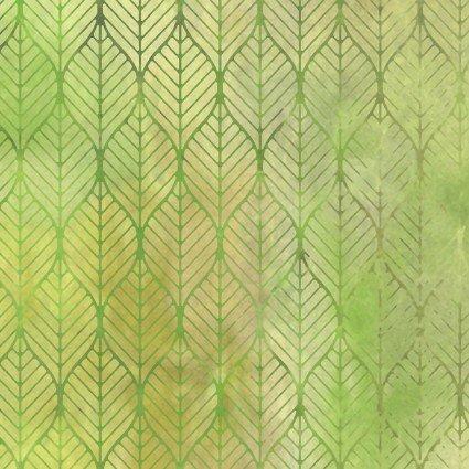 Garden of Dreams 7JYL 2 Green Ogee Leaf