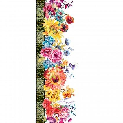 Hummingbird Lane -- 3HL-1 Multi Digital Border Print