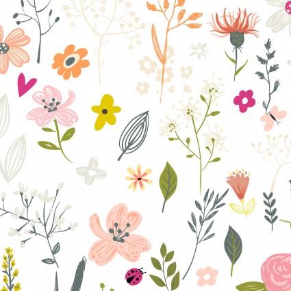 blooms white multi