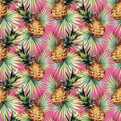 Mini Tropicals Pineapple Pink