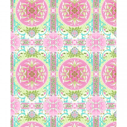 Treasures of Nature - 3TNA-2 - Aviary Tile Pink