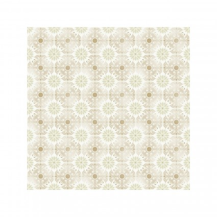 Treasures of Nature - 8TNA-6 - Floral Tonal Lt. Gray