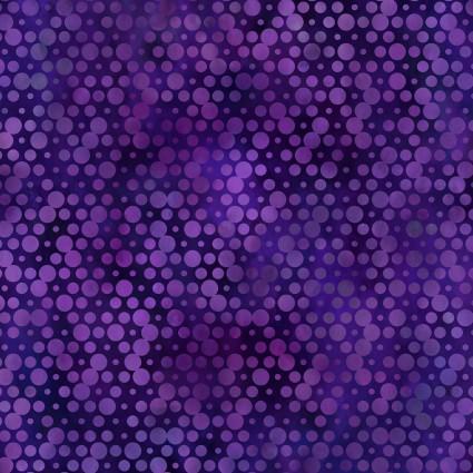 Urban Jungle Purple Circles