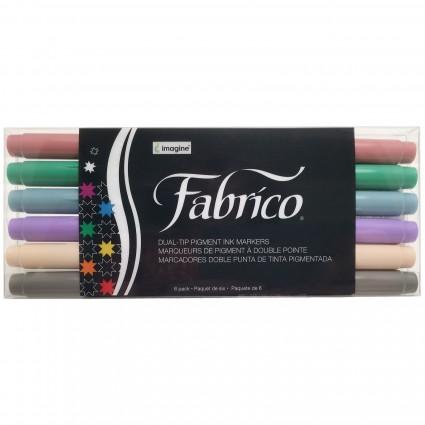 Fabrico Marker Set of 6 Pastels