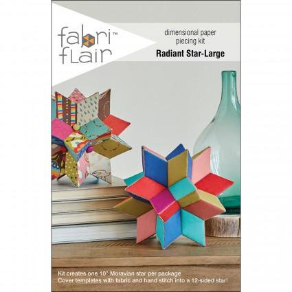 FabriFlair Kit: Radiant Star Large Dimensional Paper Piecing Kit
