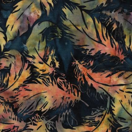 Sundance Tossed Feather Light Dusk Batik