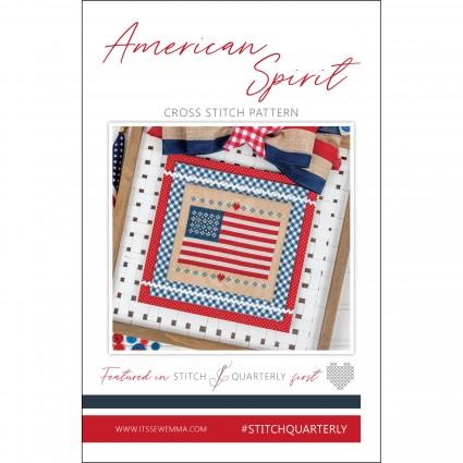 American Spirit Stitch Card