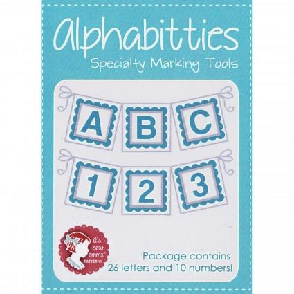 Alphabitties Specialty Marking Tools ~ Blue