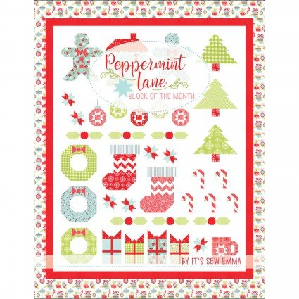 Peppermint Lane BOM by Its Sew Emma ISE-921