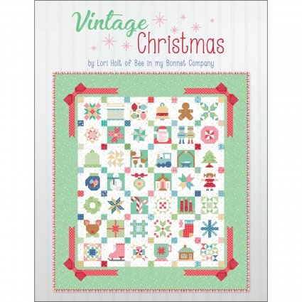 Vintage Christmas Project Book by Lori Holt ISE925