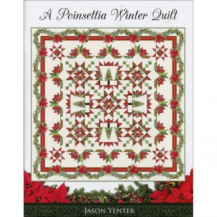 A Poinsettia Winter Quilt Booklet