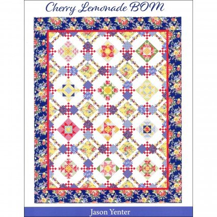 Cherry Lemonade B.O.M. Quilt Pattern