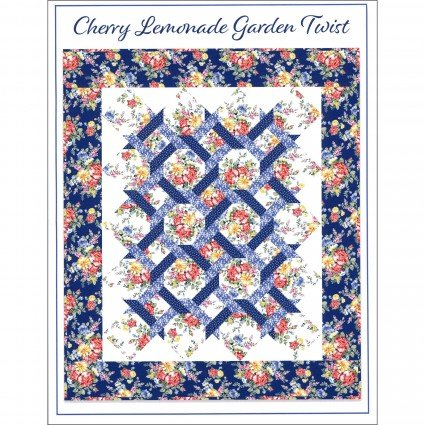 Cherry Lemonade Garden Twist Quilt