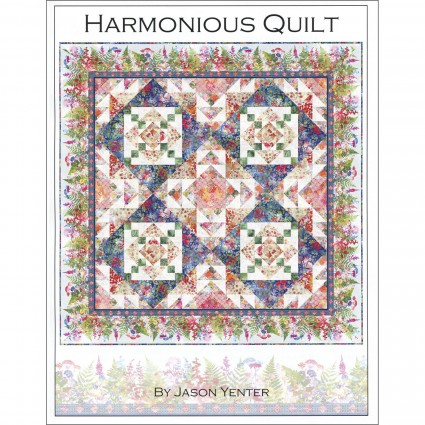 Harmonious Quilt Kit - 83 x 83 - Includes backing fabric and pattern