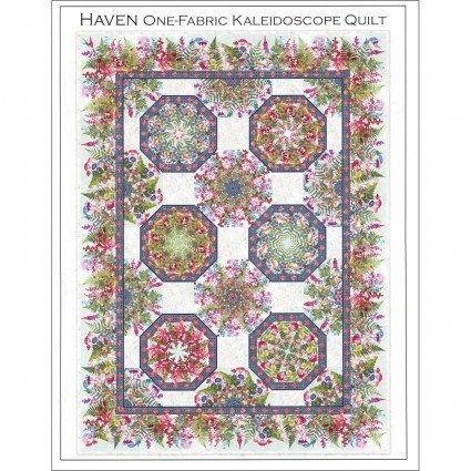 Haven One-Fabric Kaleidoscope Pattern