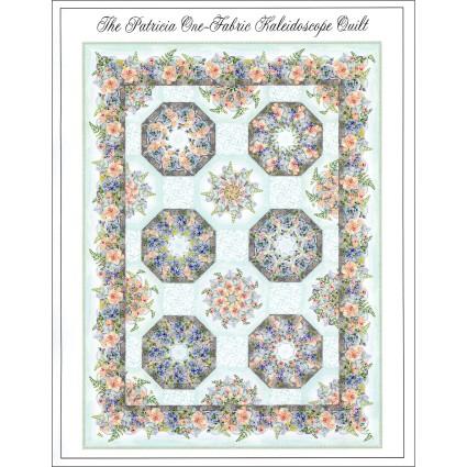 Patricia One Fabric Kaleidoscope Pattern