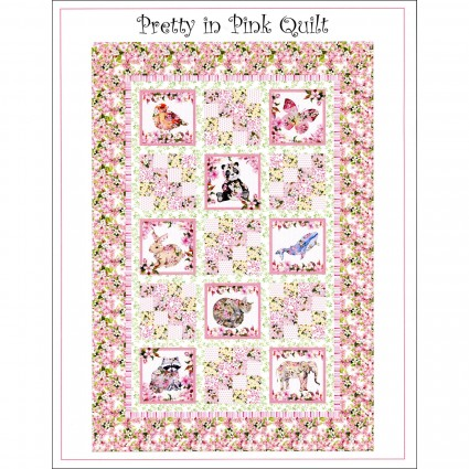 Pretty In Pink Quilt Pattern -- ITBPIPP