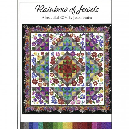 Rainbow of Jewels King Size Kit