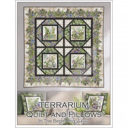 Terrarium Quilt & Pillow