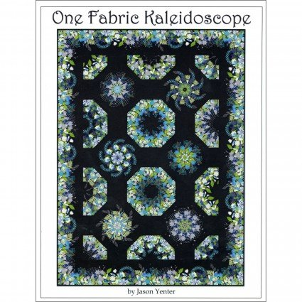 One Fabric Kaleidoscope Pattern by In the Beginning Fabrics