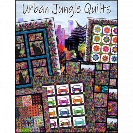 In The Beginning Fabrics- Urban Jungle Quilts Book ITBUJBK