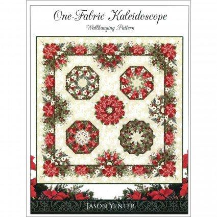 One-Fabric Kaleidoscope Wall Hanging