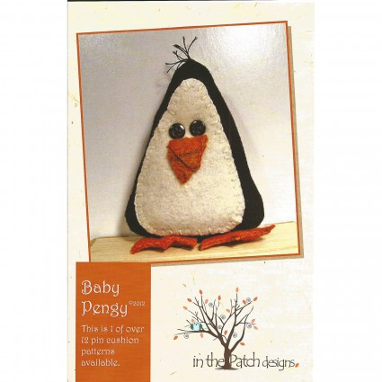 Baby pengy pincushion - pattern