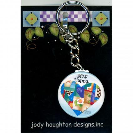 Sew Happy Keychain