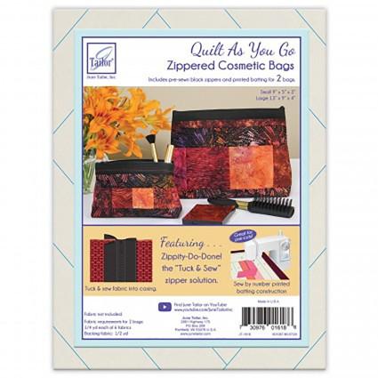 QAYG-Zippity-Do-Done Cosmetic Bag-Black